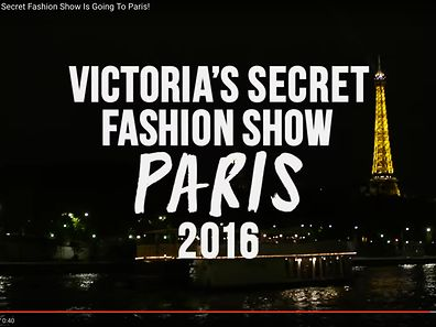 Le show de la marque de lingerie américaine Victoria's secret débarque à Paris pour la première fois, annonce la marque sur les réseaux sociaux.