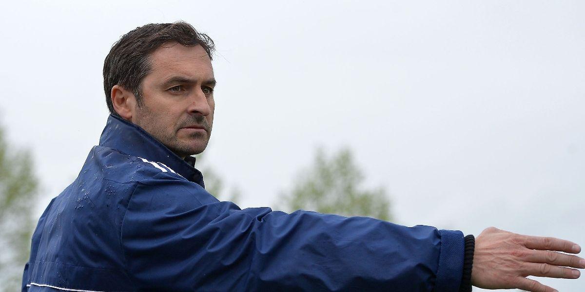 Pascal Fabbri tire un bilan mitigé de la saison de Bertrange.