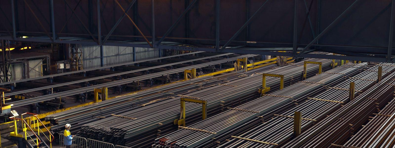 """Das  Schienenwerk in Hayange gilt Saarstahl als """"Schlüsselanlage"""" im Kontext der europäischen Mobilitätswende."""