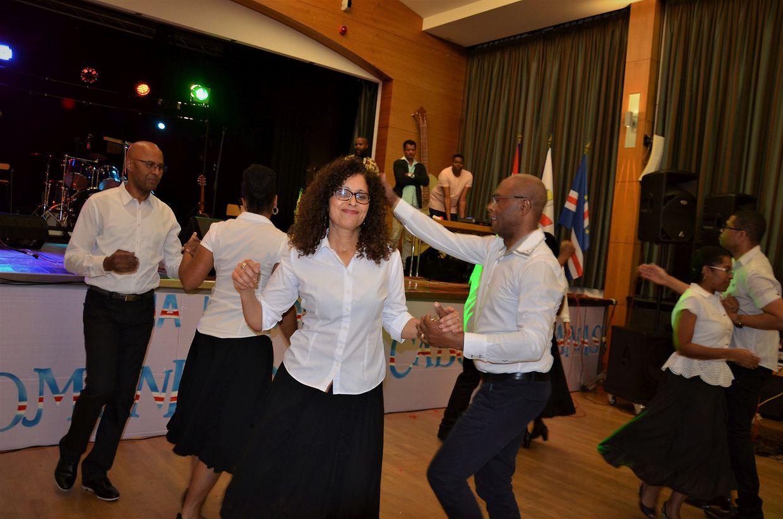 Vários momentos da festa cabo-verdiana que se realizou ontem.