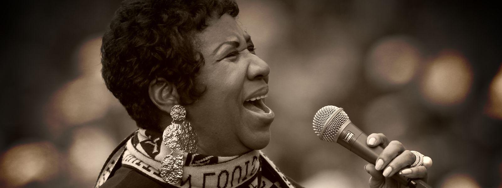 Aretha Franklin war einer der ersten weiblichen Popstars. Sie wurde 76 Jahre alt.