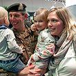 Freudiger Empfang für das Truppenkontingent EFP1 der Luxemburger Armee.