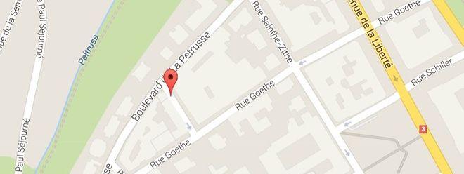 Der Vorfall ereignete sich in der Rue C. M. Spoo im Bahnhofsviertel.