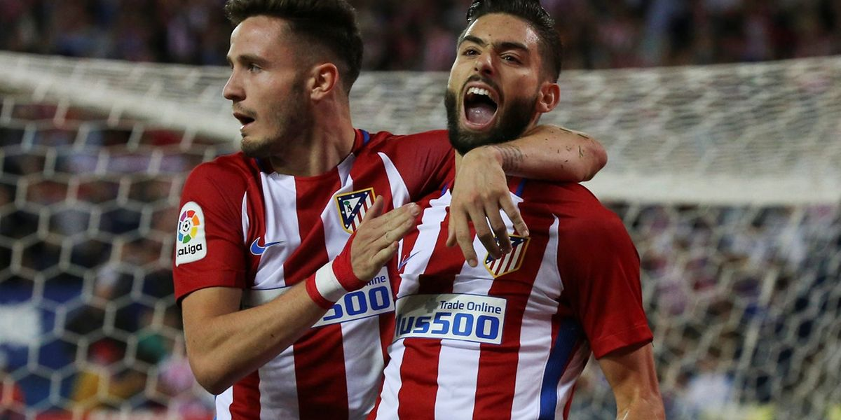 Saul Niguez et Yannick Ferreira-Carrasco, images d'un Atletico Madrid triomphant