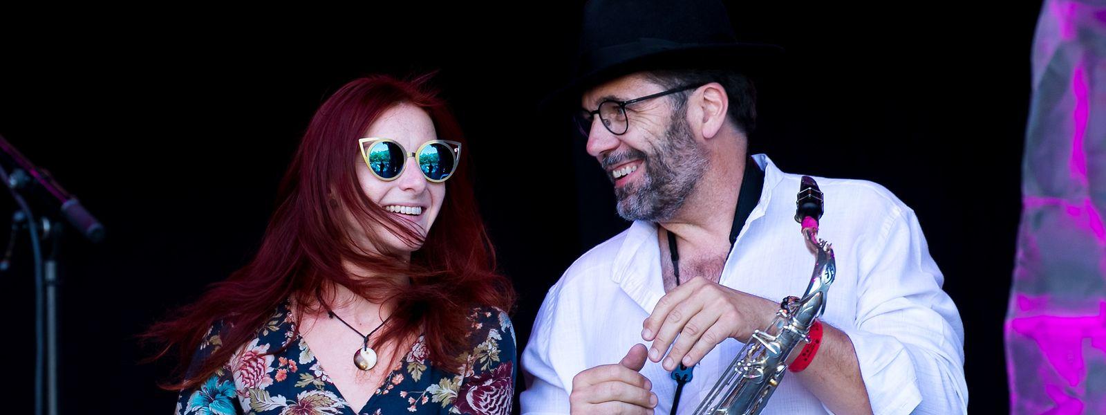 Rock um Knuedler mit der Band Marc Welters Joint Bunch auf der Lion Stage - Bühne.
