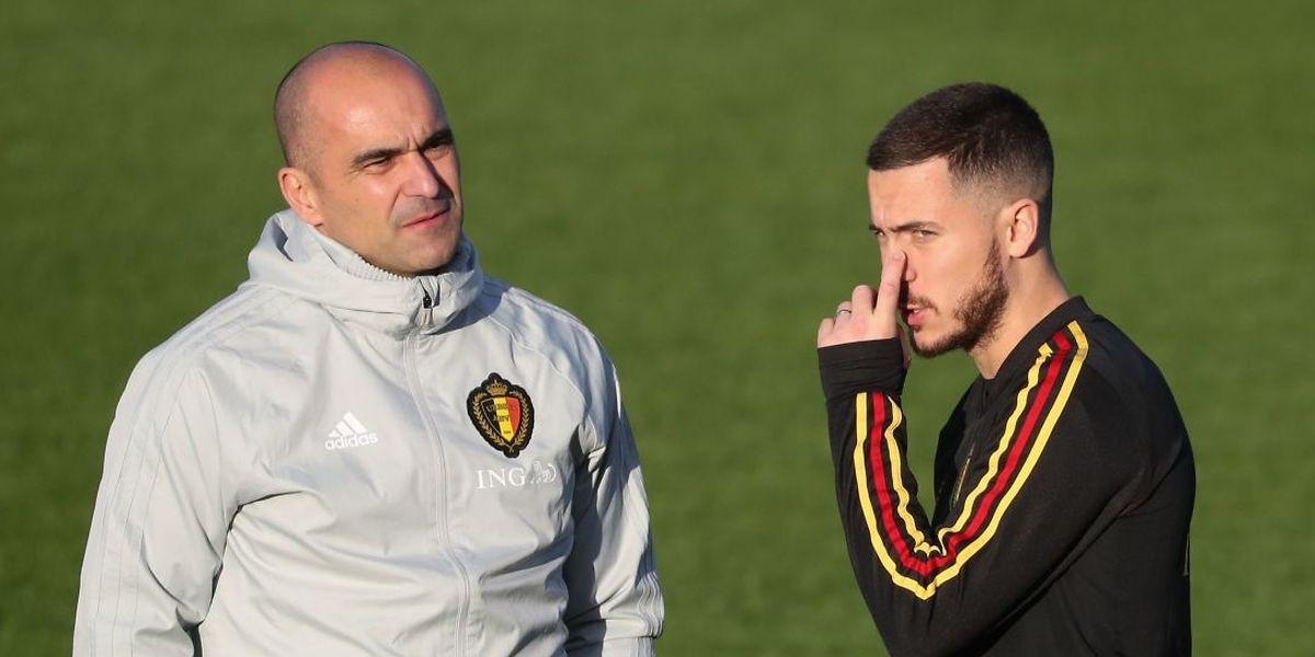 Roberto Martinez doit faire face à quelques absents avant le début des qualifications mais il pourra compter sur Eden Hazard.