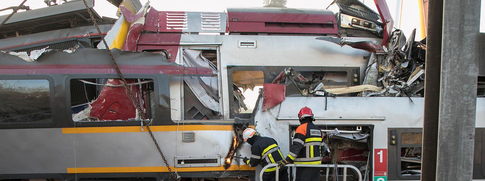 Bei dem Bahnunglück im Februar 2017 starb ein Lokführer der CFL.