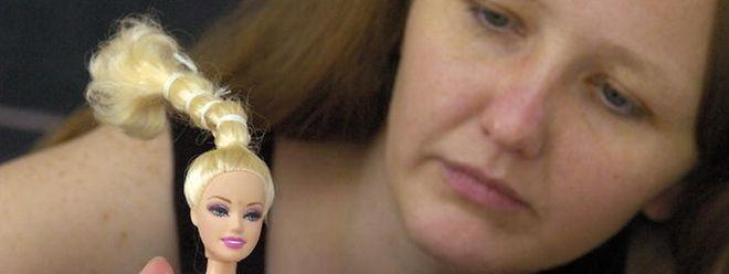 Barbie ist spindeldürr; die Wirklichkeit sieht anders aus.