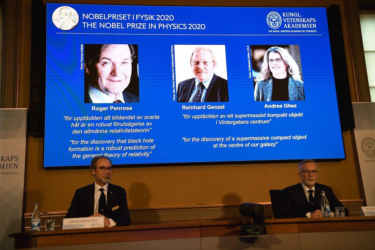 Die Namen der Preisträger von 2020 wurden am Dienstag in Stockholm bekannt gegeben.