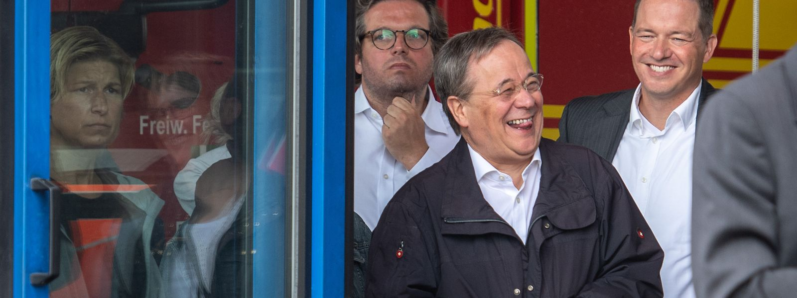 Armin Laschet (CDU), Ministerpräsident von Nordrhein-Westfalen, war am Samstag etwas zu jovial gelaunt.