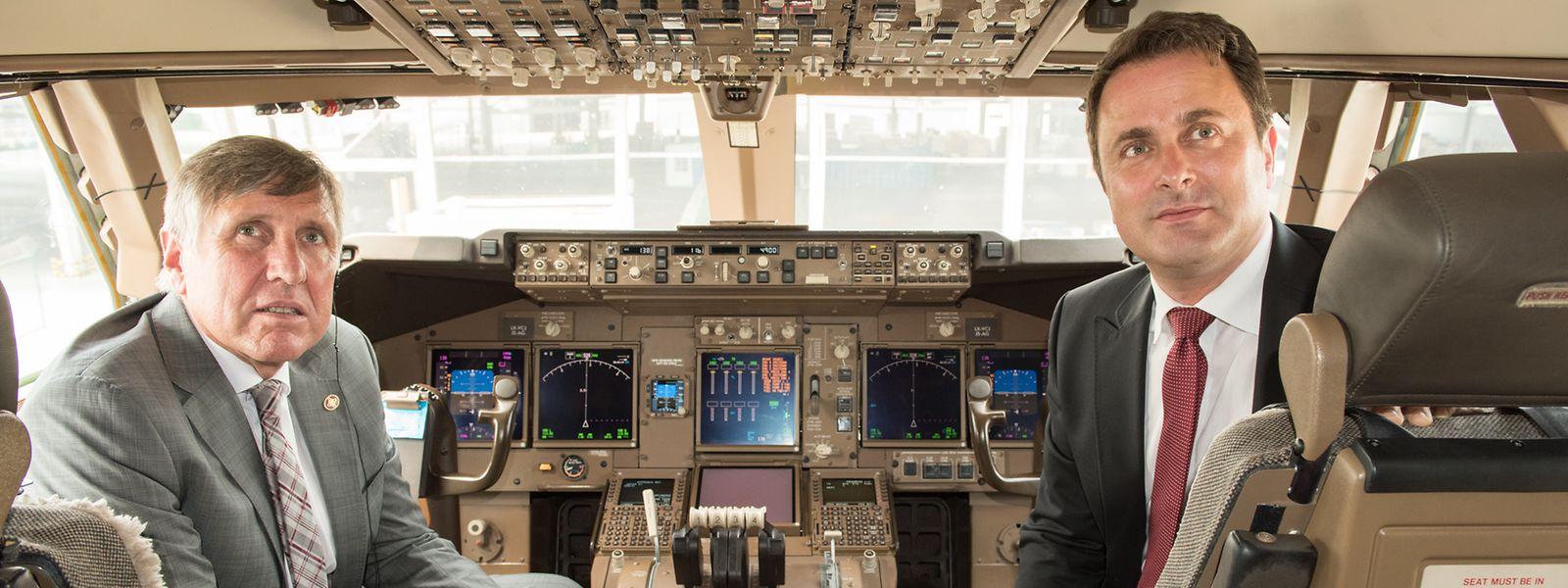 En quelques heures, François Bausch et Xavier Bettel auront dû voler au secours de la nouvelle présidente du CA de Cargolux. Décollage délicat...