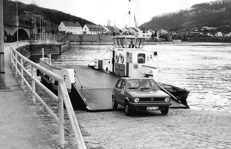 Le ferry aura assuré la liaison luxo-allemande pendant plus de 50 ans.
