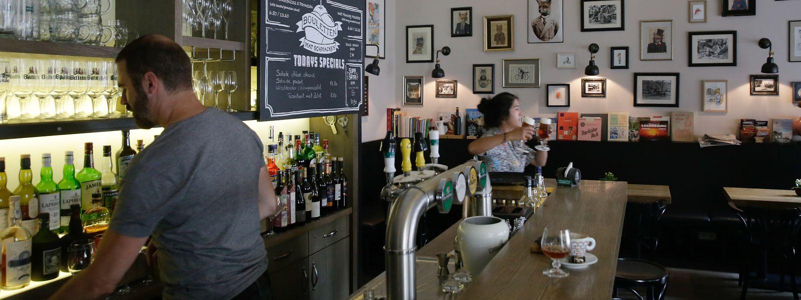 Das traditionsreiche Bistro Beim Renert am Knuedler wurde vor einigen Jahren übernommen und restauriert.