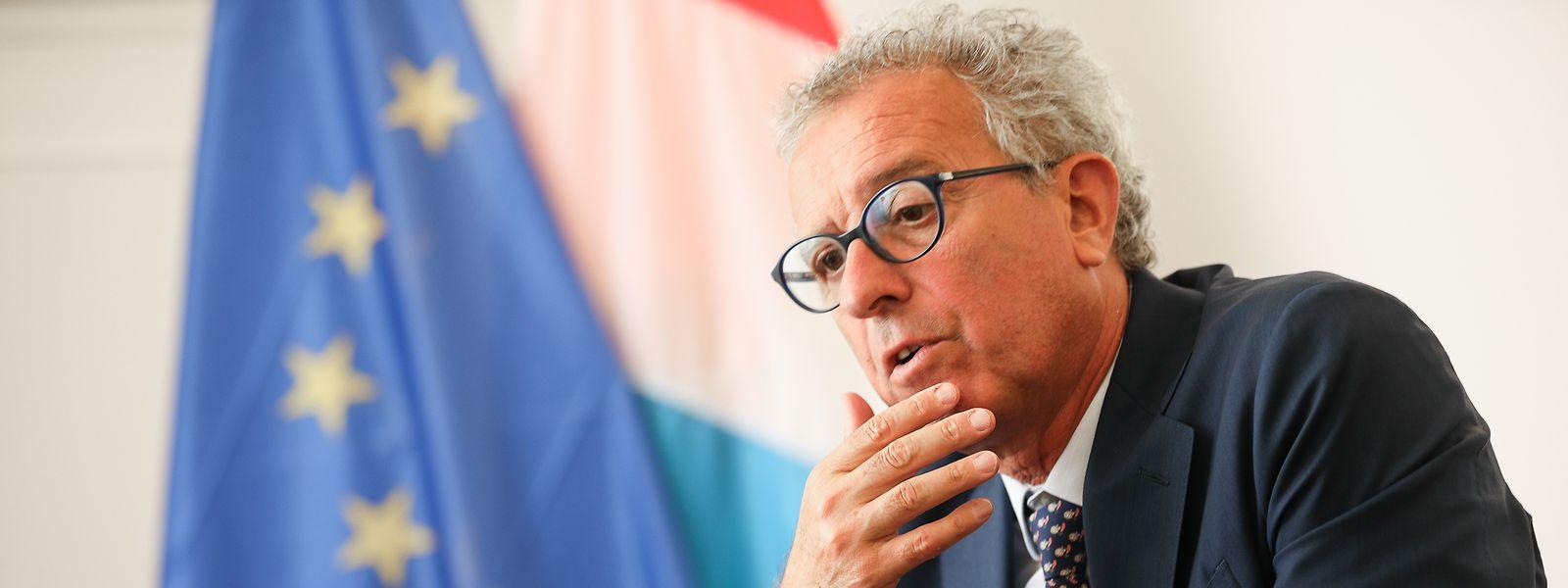 Pierre Gramegna a proposé que le texte soit à nouveau présenté la semaine prochaine aux Etats membres.