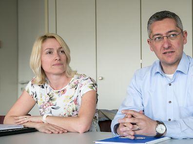 Tanja Zwanck und Sacha Georges: Schockiert über Frontalangriff von Kollegen.