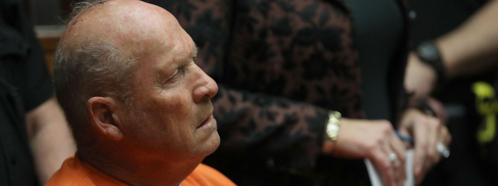"""Sacramento: Joseph James DeAngelo, der mutmaßliche """"Golden State Killer"""", bei einem Gerichtstermin im Jahr 2018."""