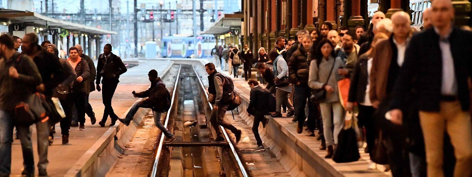 Der geplante Eisenbahnerstreik könnte sich über Monate hinziehen.
