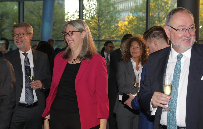 La présidente de l'Alfi Denise Voss.
