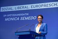 IPO , DP Europakongress , Europawahlen 2019 , Centre Culturel Walferdingen , Spitzenkandidatin Monica Semedo Foto:Guy Jallay/Luxemburger Wort