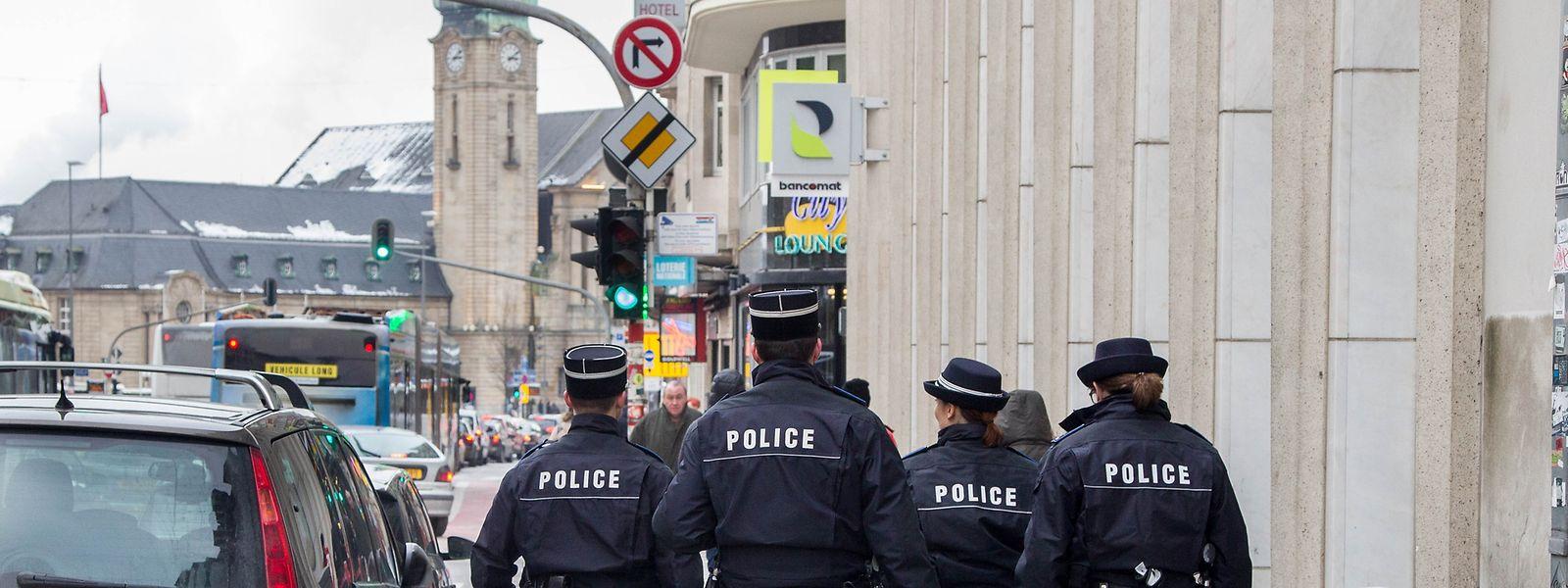 Auch am Nationalfeiertag hatte die Polizei alle Hände voll zu tun.
