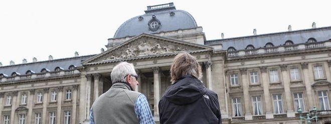 Der Königliche Palast im Zentrum von Brüssel ist der offizielle Palast des Königs der Belgier.