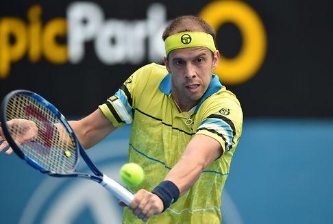 Tennis: Muller um 1 Uhr gegen Fognini