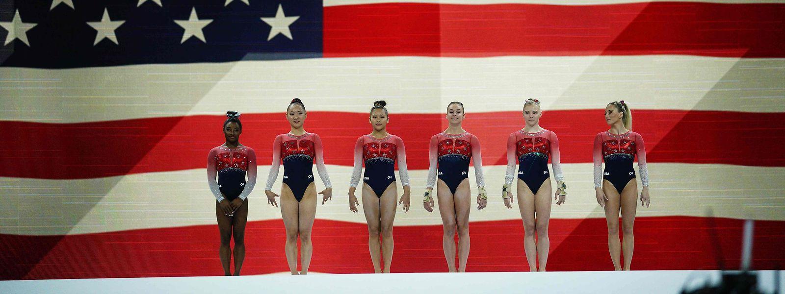Die Frauen aus den USA sind auch bei der WM in Stuttgart das Maß der Dinge.