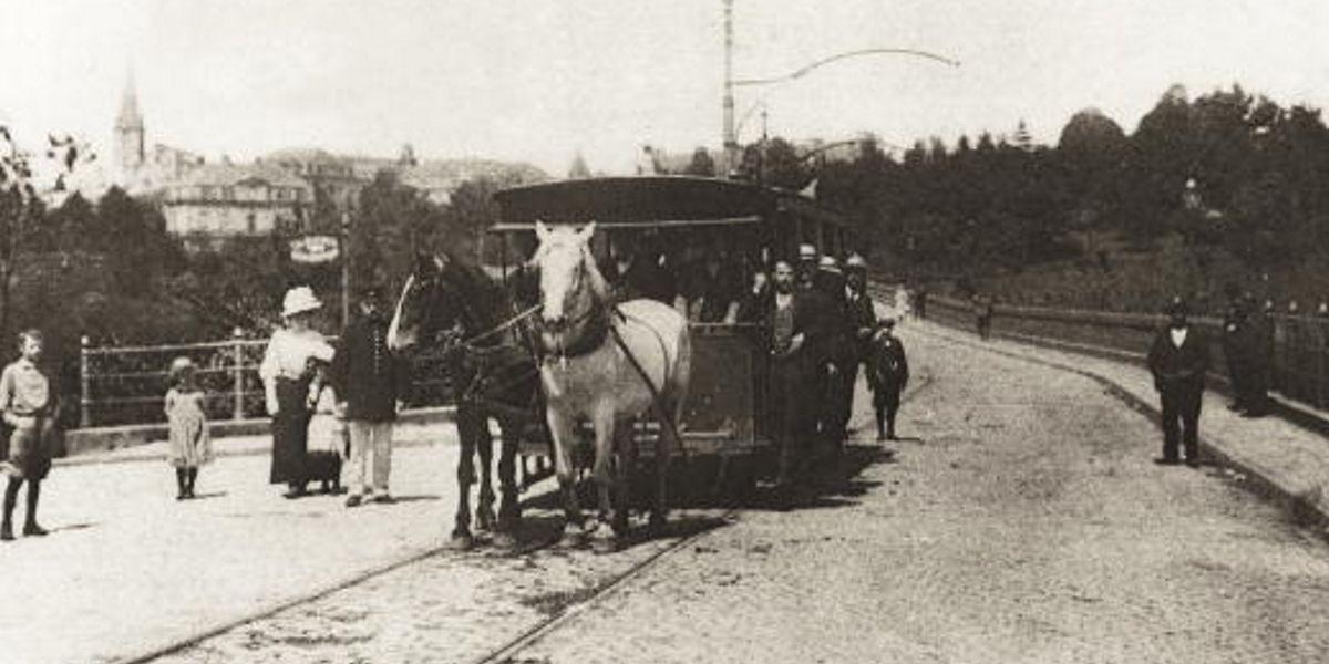 Von 1875 bis 1908 fuhr im Garer Quartier die Pferdebahn. Nun kehrt die Tram ins Bahnhofsviertel zurück.