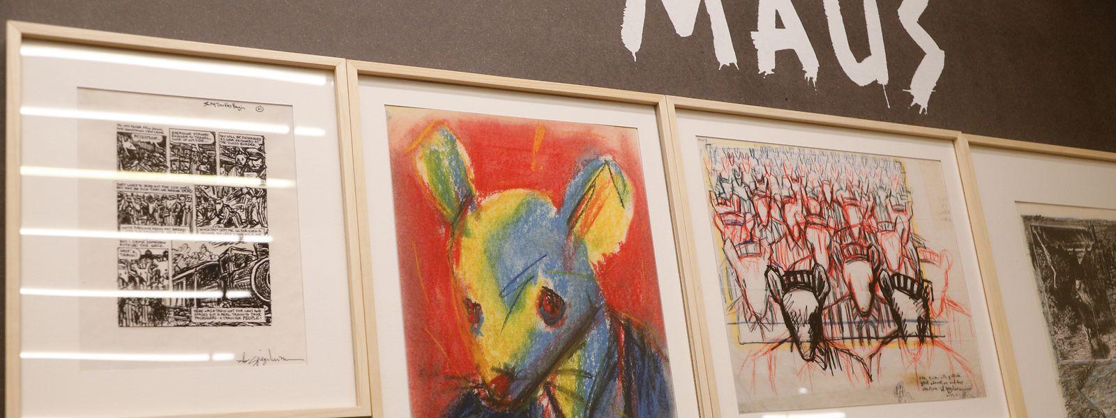 Art Spiegelman, Künstler der amerikanischen Untergrundbewegung, thematisiert als Erster in der grafischen Literatur die Shoah.