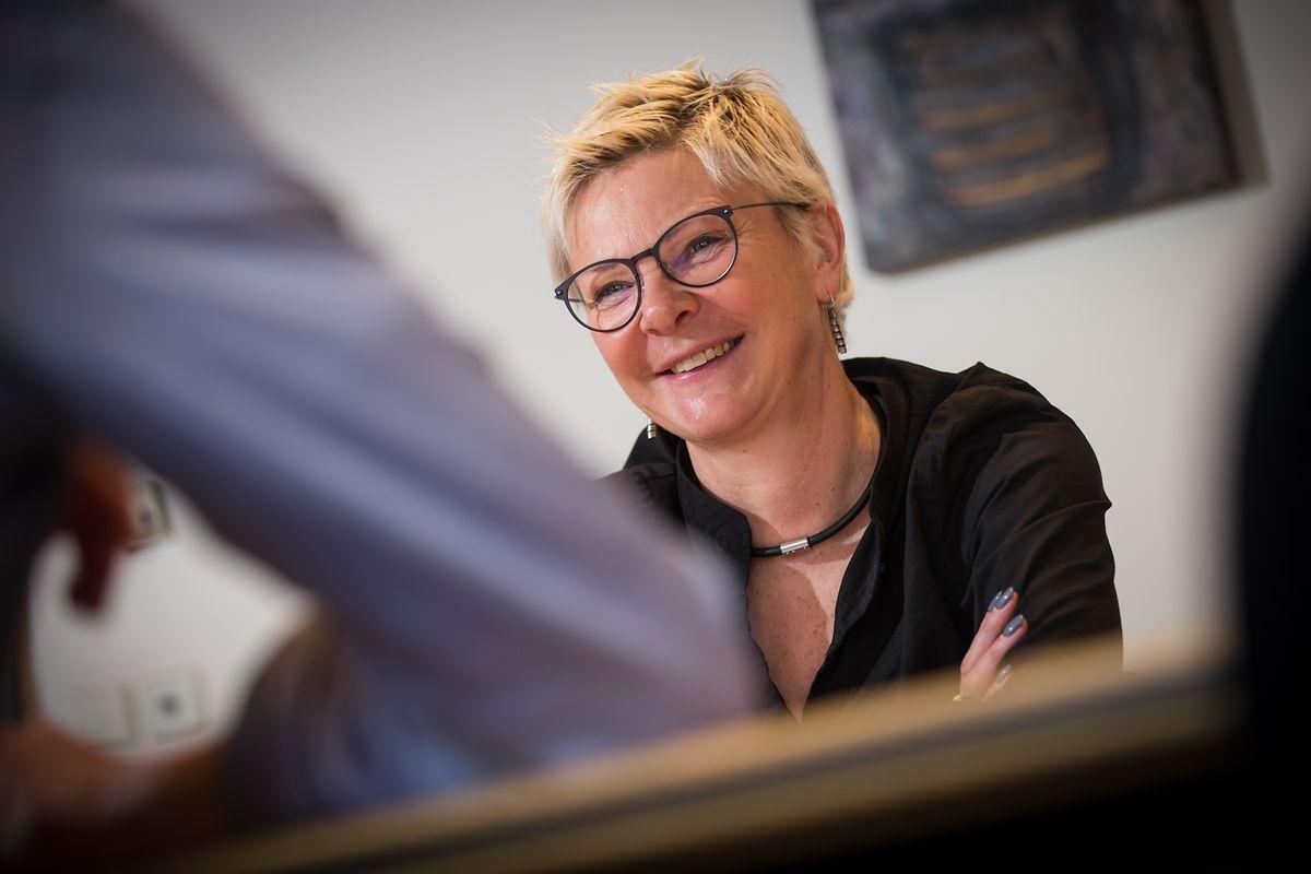 Martine Hansen: «J'aime la politique sans quoi je ne continuerais pas. Même s'il y a beaucoup plus de concurrence en politique que dans un autre job.»