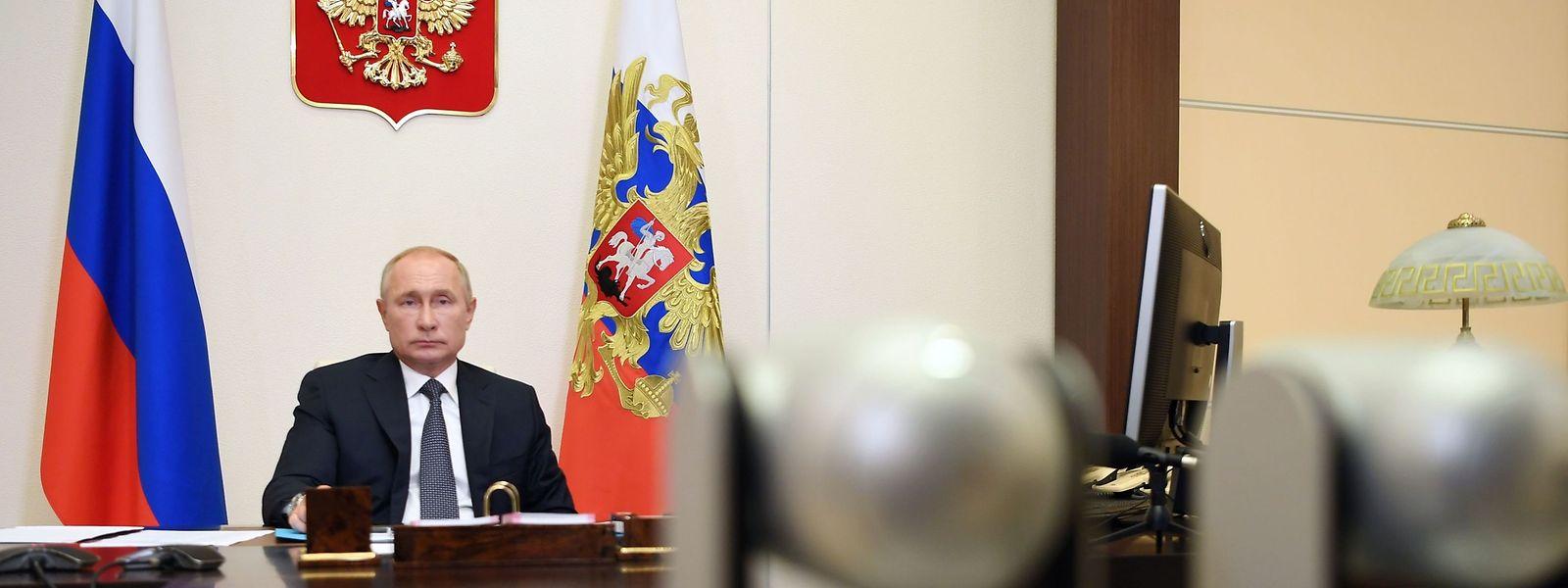 Der russische Präsident Wladimir Putin bei einer Konferenz am Dienstag.