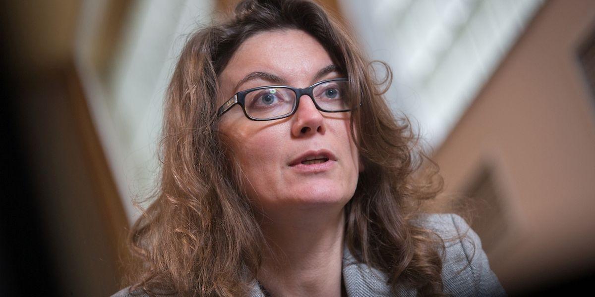 L'économiste Jézabel Couppey-Soubeyran de passage à Luxembourg ce mercredi.