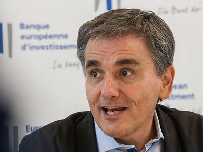 28.9. Wi / BEI / PK Euclide Tsakalotos , Finanzminister Griechenland  Foto:Guy Jallay