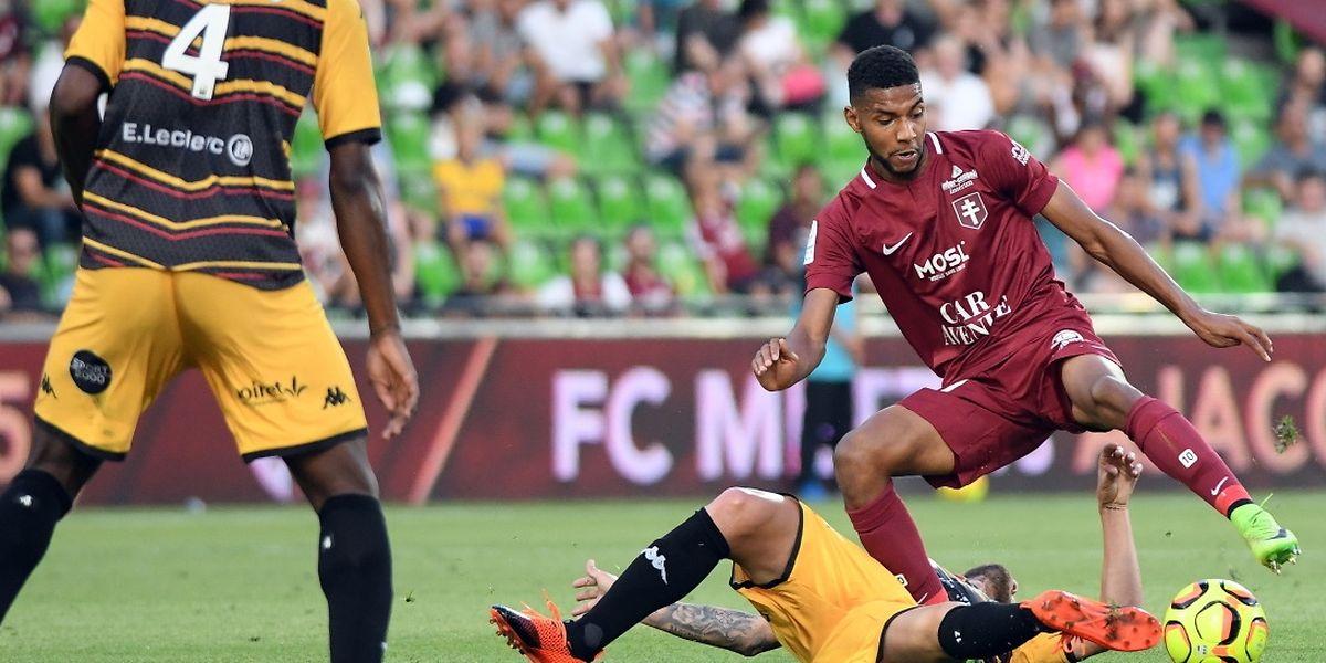 Deux matches, deux succès: Marvin Gakpa et les Messins n'ont pas manqué leur entrée en Ligue 2.