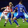 Luka Modric et ses équipiers ont souffert pour venir à bout de l'Azerbaïdjan.
