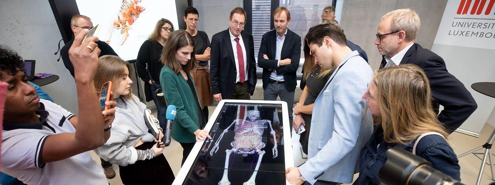 Pour l'année académique 2019-2020, 64 étudiants sont inscrits à l'uni dans les trois années de formation de médecin généraliste