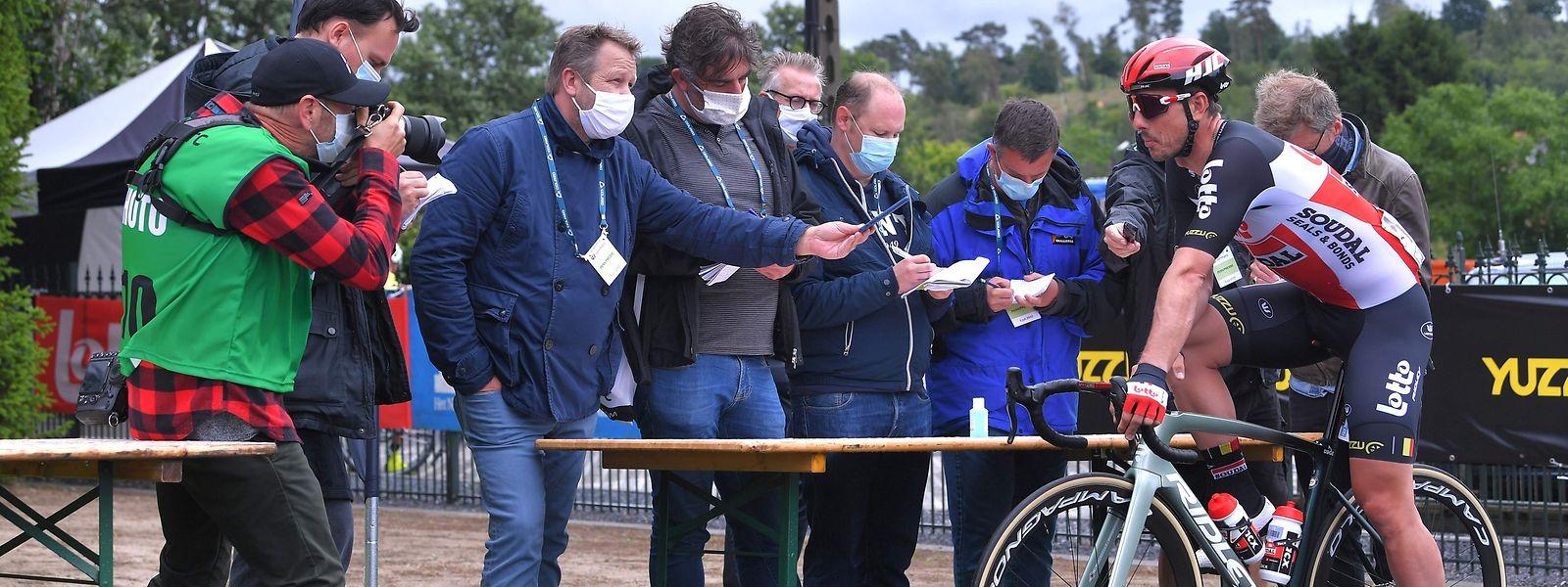 Les organisateurs de l'épreuve luxembourgeoise vont devoir mettre en place différents protocoles comme cela s'est produit sur le GP Vermac en Belgique début juillet.