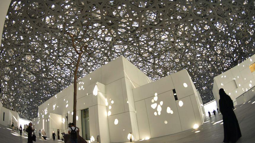 Der Louvre in Abu Dhabi öffnet am Freitag seine Türen.