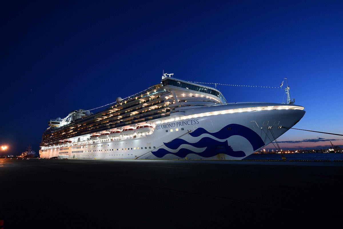 """Auf der """"Diamond Princess"""" vor Yokohama wurden bisher 20 Fälle bestätigt."""