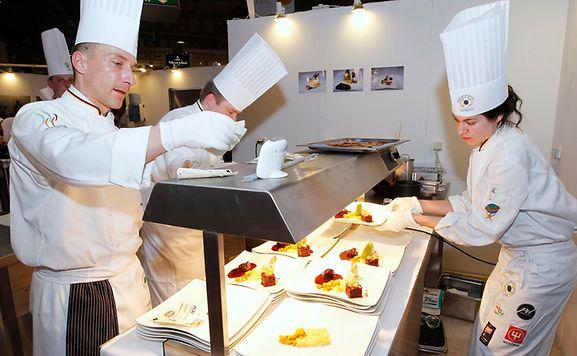 Luxemburger wort expogast le gotha de la gastronomie - Chef de cuisine luxembourg ...