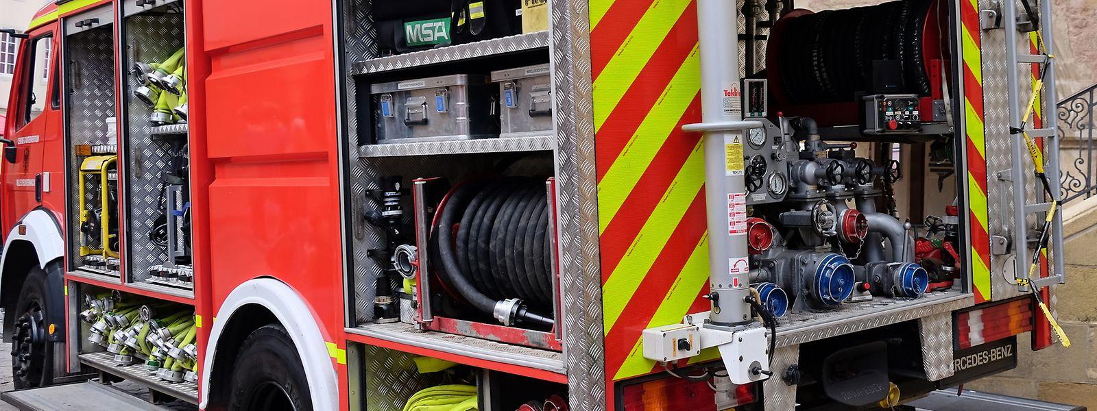 Die Feuerwehr musste am Montagabend in ein Waldstück bei Rambruch ausrücken.