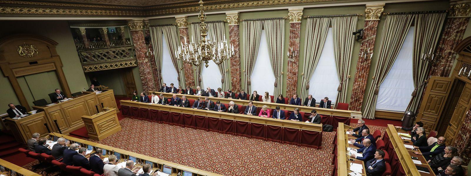 """Martine Hansen (CSV) garante que saída em bloco da oposição do Parlamento não foi """"orquestrada""""."""
