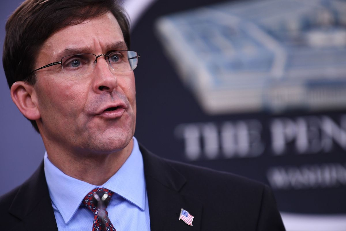Mark Esper wurde im Juli 2019 vom Senat als US-Verteidigungsminister bestätigt.