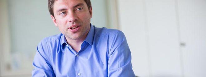 Der Sekundarschullehrer und zweifache Familienvater Fred Keup engagiert sich seit Wochen für eine Ablehnung des Ausländerwahlrechts beim Referendum am 7. Juni.