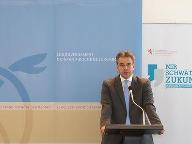 Bildungsminister Claude Meisch ist stolz auf seine Halbzeitbilanz.