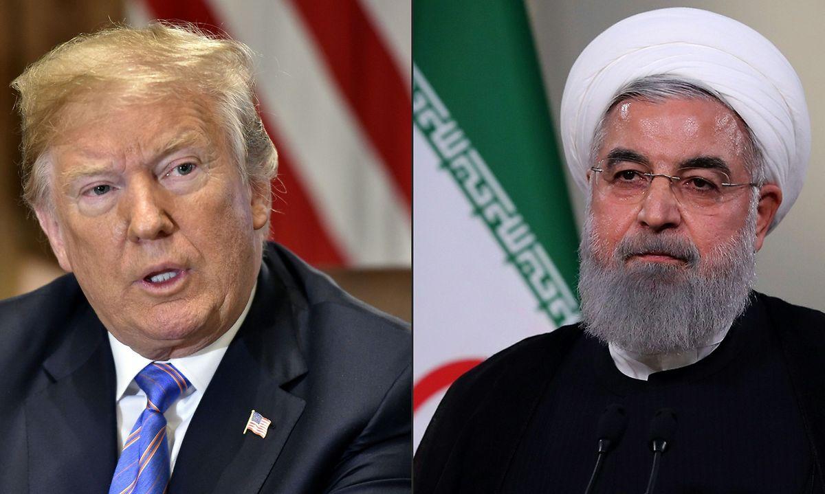 Donald Trump und der iranische Präsident Hassan Rouhani: Der US-Präsident revidiert seine eigenen Aussagen, wonach er ohne Vorbedingungen zu einem Treffen mit der iranischen Führung bereit sei.