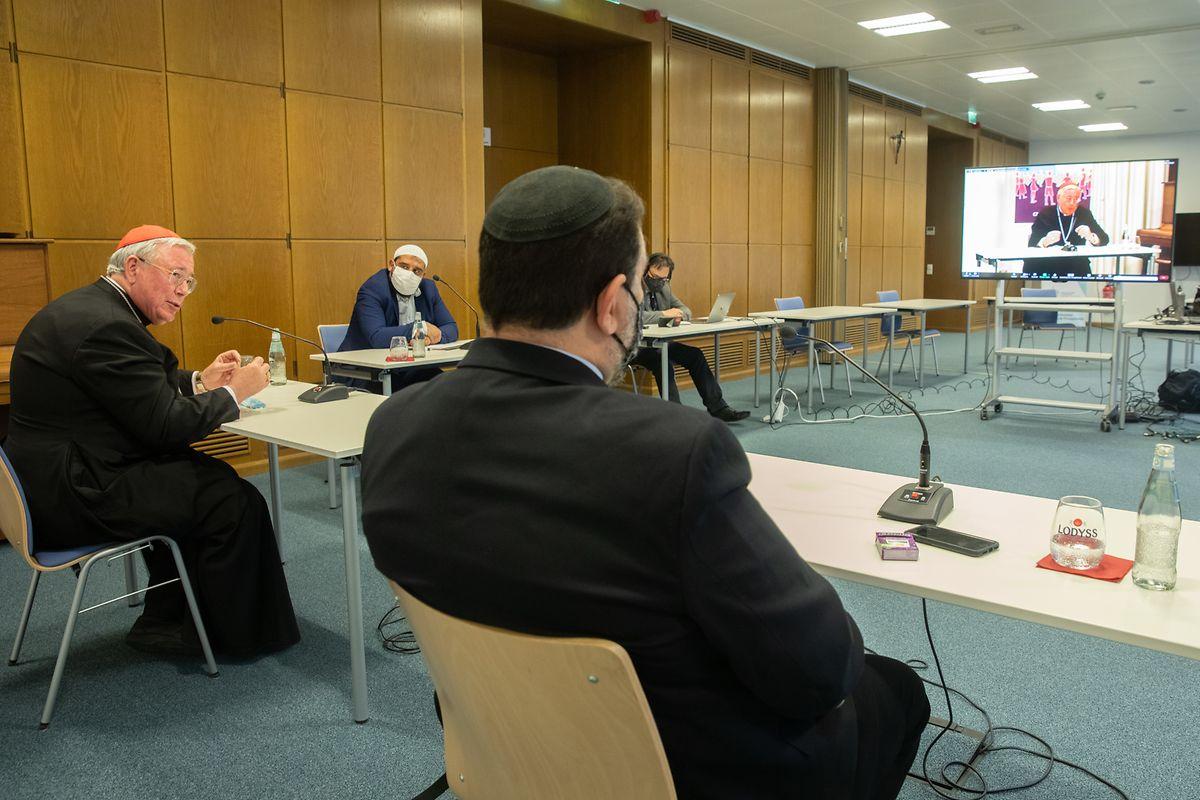 An der religiösen Talkrunde zu gelingendem Leben beteiligten sich Vertreter aus Christentum, Judentum und Islam.