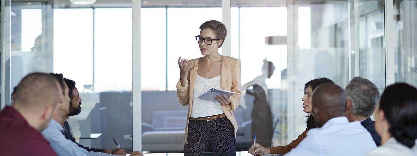 Frauen an der Spitze: In der EU ist nur jede dritte Führungskraft eine Frau.
