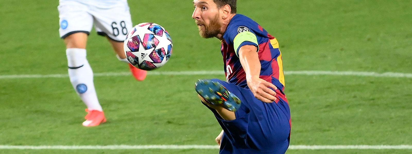 Lionel Messi will auch gegen den FC Bayern seine Extraklasse unter Beweis stellen.