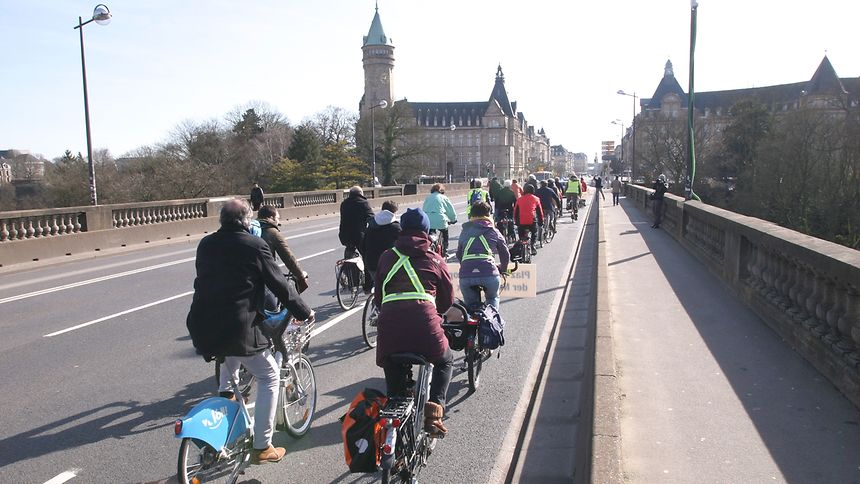 Many Luxembourgers are turning to more environmentally-friendly means of transportation.